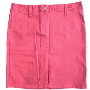 SISELY Bubblegum Pink Stretch Pencil Skirt 38 NEW